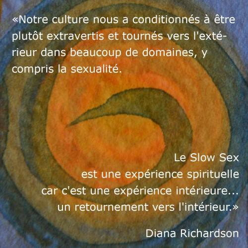 Le Slow Sex une expérience spirituelle